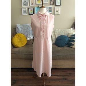 Dresses & Skirts - Vintage 1960s Pink Peter Pan Collared Dress